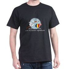 Stork Baby Romania USA T-Shirt