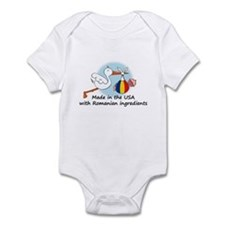 Stork Baby Romania USA Infant Bodysuit