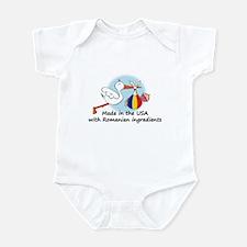 Stork Baby Romania USA Infant Bodysuit