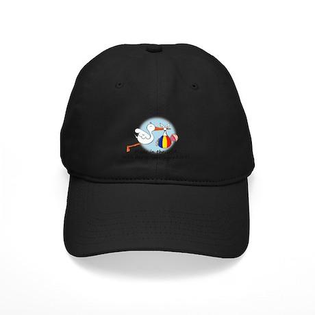 Stork Baby Romania USA Black Cap