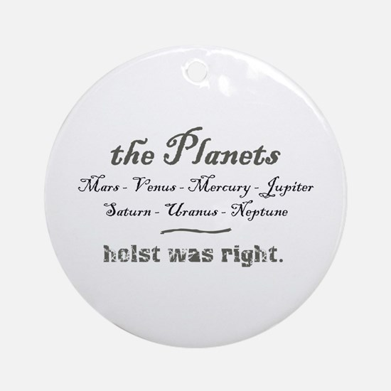 thePlanets Ornament (Round)