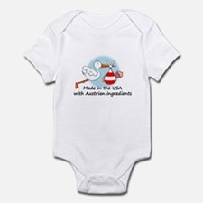 Stork Baby Austria USA Infant Bodysuit