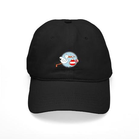 Stork Baby Austria USA Black Cap
