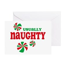 Naughty Candy Greeting Card