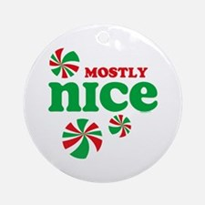 Nice Candy Ornament (Round)