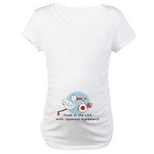Stork Baby Japan USA Shirt