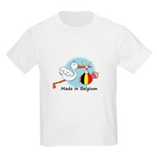 Stork Baby Belgium T-Shirt