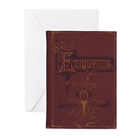 Squid Etiquette of New York Greeting Cards (Pk of