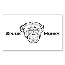 Munky Rectangle Decal
