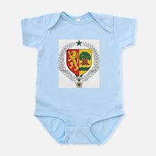 Senegal Coat Of Arms Infant Creeper
