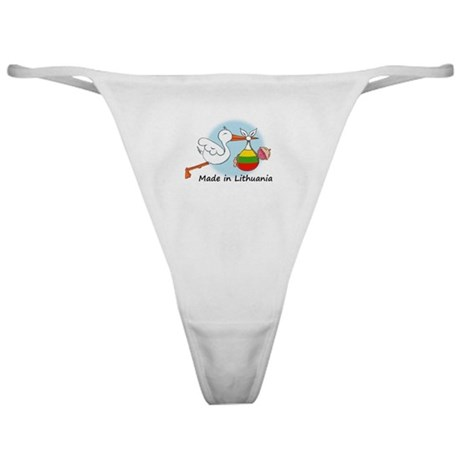 Stork Baby Lithuania Classic Thong