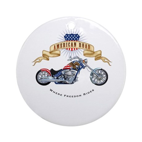 """""""Chopper"""" Ornament (Round)"""