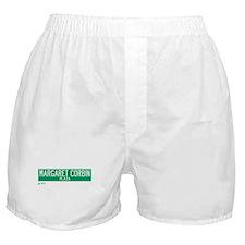 Margaret Corbin Plaza in NY Boxer Shorts
