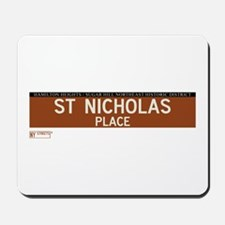 St. Nicholas Place in NY Mousepad