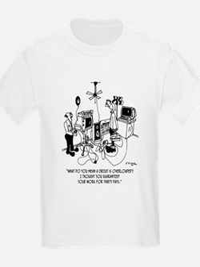Electrician Cartoon 4427 T-Shirt