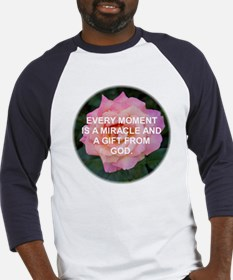 EVERY MOMENT IS A GIFT ROSE Baseball Jersey