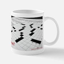 Crosswords in Pen Mug