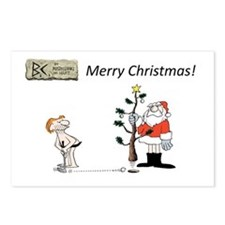 B.C. Christmas Postcards (Package of 8)
