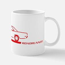 1968-69 Roadrunner Red Car Mug
