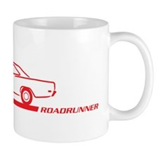 1968-69 Roadrunner Red Car Mug