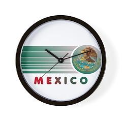 Mexico Vintage Wall Clock