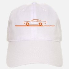1968-69 Roadrunner Orange Car Baseball Baseball Cap