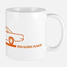 1968-69 Roadrunner Orange Car Mug
