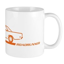 1968-69 Roadrunner Orange Car Mug