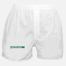 Langston Hughes Place in NY Boxer Shorts