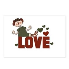 Ragdoll Love Valentine Postcards (Package of 8)