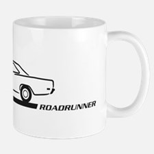 1968-69 Roadrunner Black Car Mug