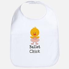 Ballet Chick Bib