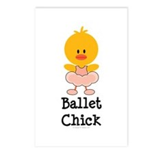 Ballet Chick Postcards (Package of 8)