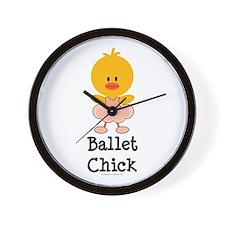 Ballet Chick Wall Clock