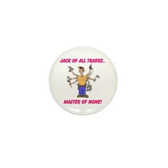 JACK OF TRADES Mini Button (100 pack)