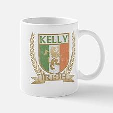 Kelly Irish Crest Mug