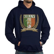 Kelly Irish Crest Hoodie