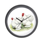 Cochins White Pair Wall Clock
