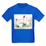Cochins White Pair Kids Dark T-Shirt