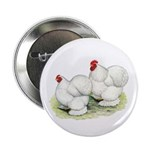 "Cochins White Pair 2.25"" Button (100 pack)"