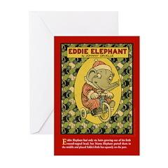 EDDIE ELEPHANT Greeting Cards (Pk of 20)