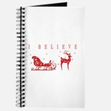 Cute Rudolph the red nose reindeer Journal