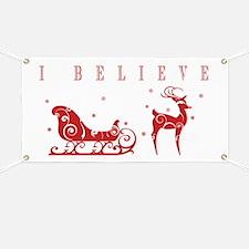 Cute Reindeer Banner