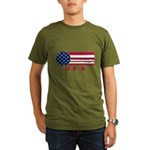 USA Vintage Organic Men's T-Shirt (dark)