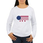 USA Vintage Women's Long Sleeve T-Shirt