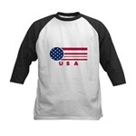 USA Vintage Kids Baseball Jersey
