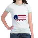 USA Vintage Jr. Ringer T-Shirt