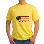 USA Vintage Yellow T-Shirt