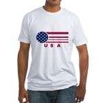 USA Vintage Fitted T-Shirt