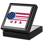 USA Vintage Keepsake Box
